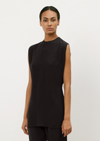 Marni deep blue sleeveless tunic