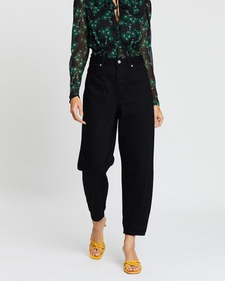 Topshop High And Mighty Jeans