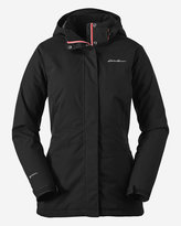 Eddie Bauer Women's All-Mountain Insulated Long Jacket