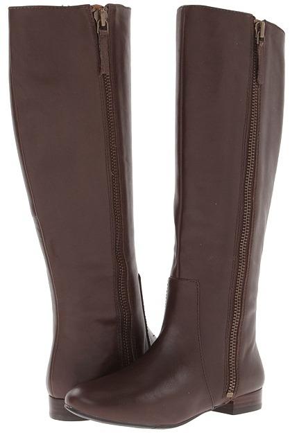 Nine West Port (Dark Brown Leather) - Footwear