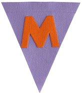 M Print Neatly Pennant Flag (Girl)