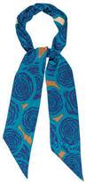 Diane von Furstenberg Abstract Print Silk Scarf