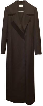 The Row Black Coat for Women