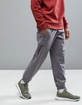 Adidas Originals Zne Cuffed Joggers With Side Pocket In Grey B46964