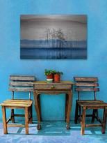 Parvez Taj Blue Lake Horizon by Aluminum)