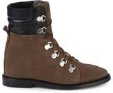 Aquatalia Clarisa Suede & Leather Outdoor Boots