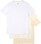 Maison Margiela Set of three crew-neck cotton T-shirts