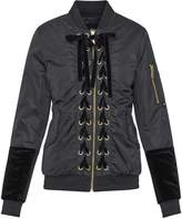 Sam Edelman Lace Front Bomber Jacket