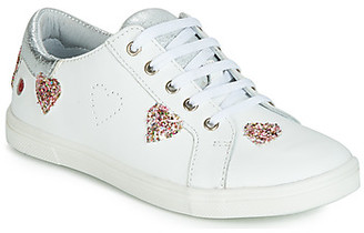 GBB ASTOLA girls's Shoes (Trainers) in White