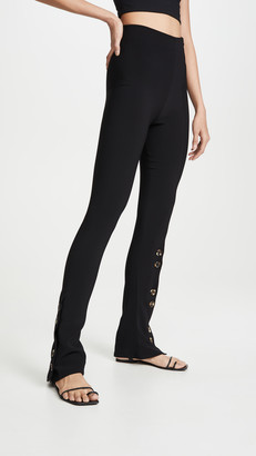 A.W.A.K.E. Mode Fitted Pants With Side And Frontal Slits