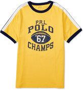 Ralph Lauren Little Boys' Graphic-Print T-Shirt