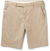 Paul Smith Brushed-cotton Chino Shorts - Beige