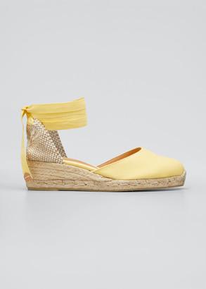 Castaner Carina Canvas Ankle-Tie Espadrilles