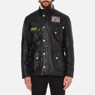 Barbour International Men's Union Jack International Jacket - Black - XXL - Black