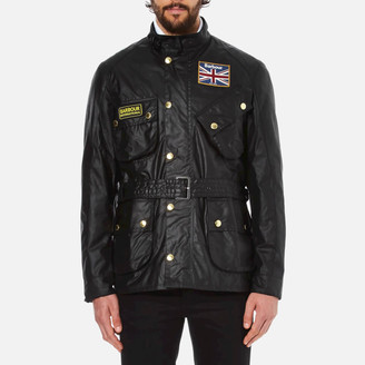 Barbour International Men's Union Jack International Jacket