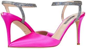 Sarah Jessica Parker Single (Candy Satin) Women's Shoes