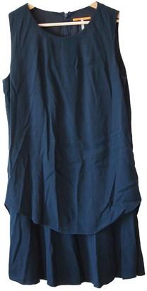 BOSS ORANGE Navy Cotton - elasthane Dress for Women
