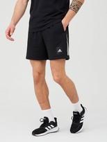 adidas 3 Stripe Shorts - Black