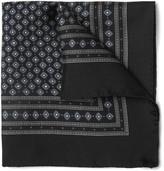 Dolce & Gabbana Printed Silk-Twill Pocket Square
