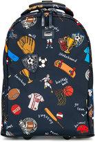 Dolce & Gabbana sports printed backpack
