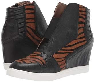 Linea Paolo Filipa 2 (Black/Caramel/Black) Women's Shoes