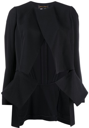 Comme des Garcons Cut Out Panelled Blazer
