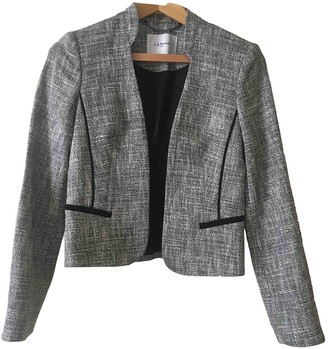 LK Bennett Grey Cotton Jacket for Women