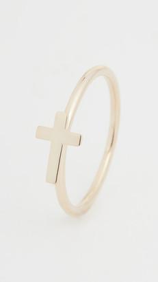 Jennifer Zeuner Jewelry Theresa Cross Ring