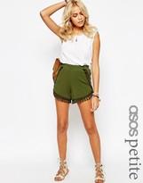 Asos Jersey Shorts with Tassles