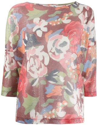 M Missoni Floral Knit Jumper