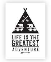 Design Mondo Greatest Adventure Art Print, A3