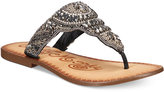 Naughty Monkey Anniston Embellished Thong Sandals