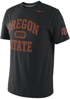 Nike College Tribute Tri-Blend Oregon State Men's T-Shirt