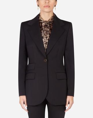 Dolce & Gabbana Wool And Silk Blazer