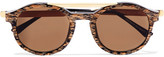 Thierry Lasry Fancy Round-frame Acetate Sunglasses - one size