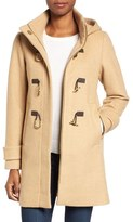 Vince Camuto Boiled Wool Blend Duffle Coat