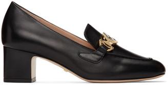 Gucci Black Zumi Mid-Heel Loafers