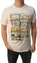 Famous Stars & Straps Men's Punk Tapes Graphic T-Shirt-arge