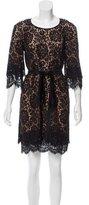 Michael Kors Knee-Length Lace Dress