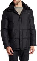 Kenneth Cole New York Zip Front Faux Fur Trim Jacket
