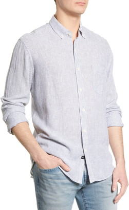 Rails Connor Regular Fit Stripe Button-Down Shirt