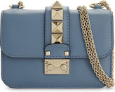 Valentino Rockstud Lock mini leather shoulder bag