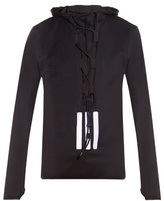 Y-3 3s Track Lace-up Hooded Sweatshirt