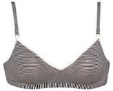 Petit Bateau Womens second skin effect milleraies-striped bra
