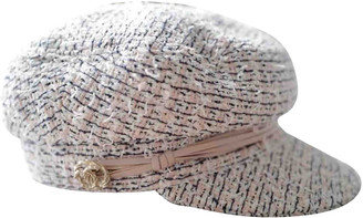 Chanel Pink Wool Hats