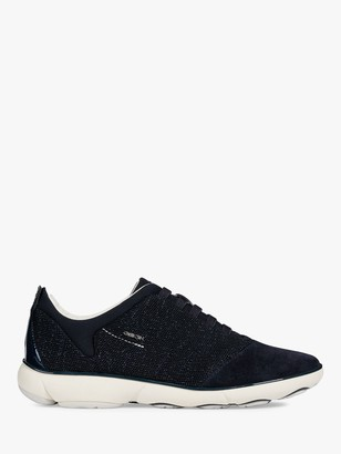 Geox Women's Nebula Breathable Trainers, Navy