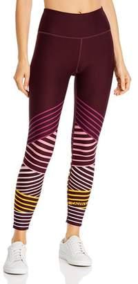 Calvin Klein High-Rise Striped Detail Leggings