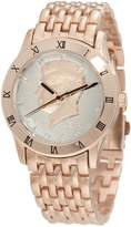 August Steiner Men's CN004R-AS Round Kennedy Half Dollar Rose-tone Bracelet Watch