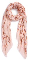 Kate Spade Women's Camel March Scarf