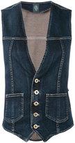 Eleventy waistcoat - women - Cotton/Spandex/Elastane - 42